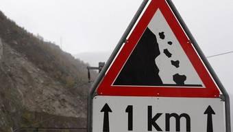 Zwei Walliser wurden von einem Steinschlag getötet (Symbolbild)
