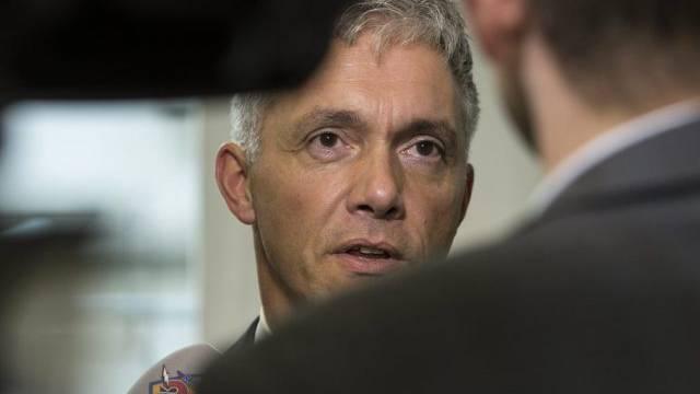 Bundesanwalt Michael Lauber in einer Aufnahme vom September 2013