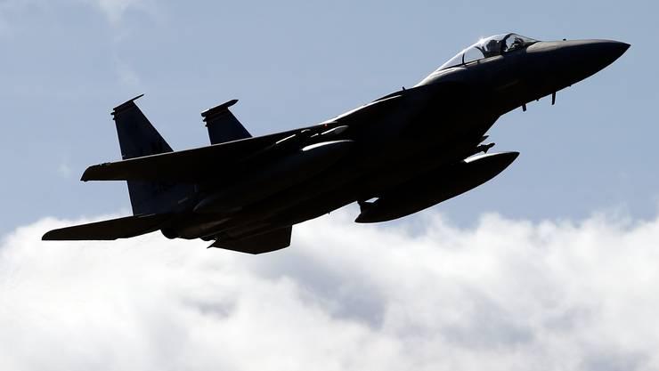 Die US-Streitkräfte beklagen den Tod eines Kampfjet-Piloten. (Archivbild)