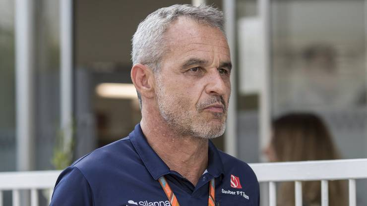Sauber-Teammanager Beat Zehnder (51) in Baku.