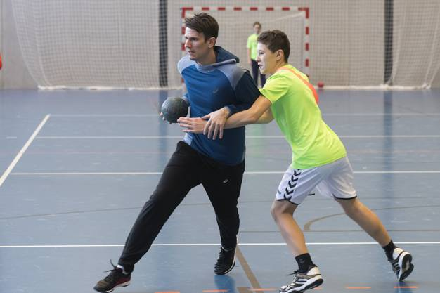 Nach dem Camp in Siggenthal Station gönnt sich der Handball-Star zwei Wochen Trainingsferien.