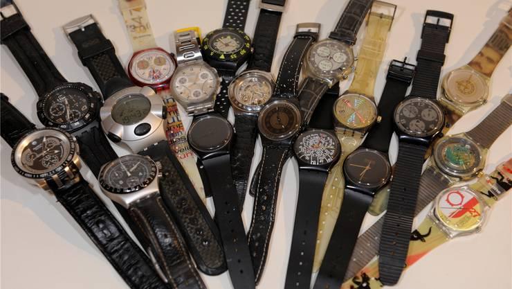 Swatch ist wohl die meistverkaufte Uhrenmarke der Welt, die Vielfalt der Modelle einzigartig, Raritäten sind immer noch begehrt. OLiver Menge