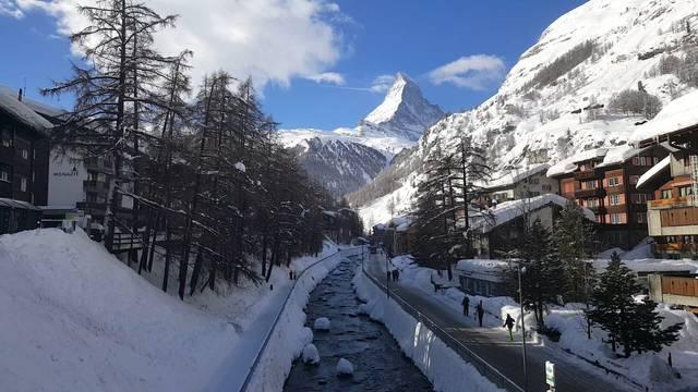 Matterhorn im Sonnenschein