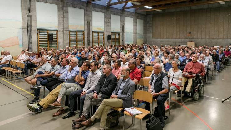 """Rund 300 Personen nahmen an der letzten Infoveranstaltung zu """"Rheintal+"""" teil."""