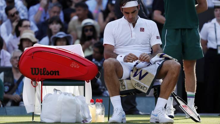 Roger Federer ist in Wimbledon ausgeschieden.