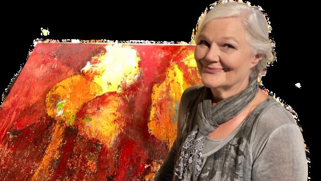 Die 70-jährige Christine Albisser erlernte den künstlerischen Beruf als Glasbläserin in der Glasmanufaktur Roberto Niederer in Zürich, wo sie während mehreren Jahren tätig war.