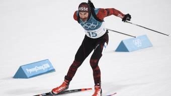 Bei Olympia zweimal knapp neben dem Podest, soll es in Östersund nun klappen mit der ersten Schweizer WM-Medaille: Benjamin Weger ist die beste Schweizer Trumpfkarte