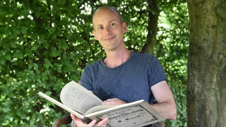 Dirigent Tobias von Arb leitet seit 2011 den Kammerchor Buchsgau. Ein erneutes Konzert-Defizit möchte er verhindern.