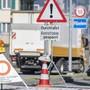 Axenstrasse gesperrt (Oktober 2019)