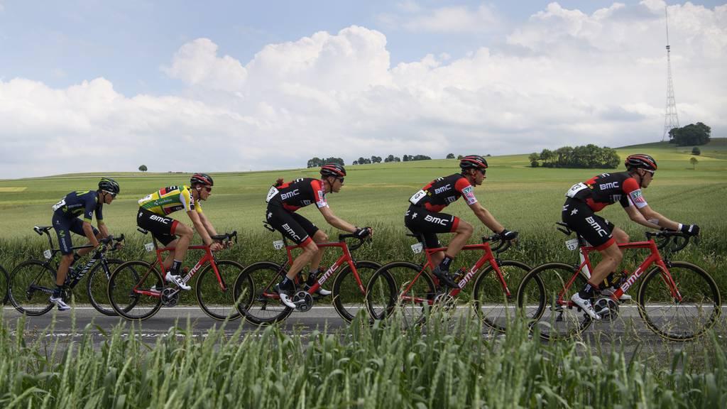 Start der Tour de Suisse in Menziken