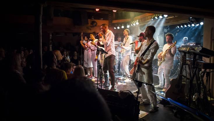 Impressionen vom Reggae-Konzert von Guillaume Hoarau.