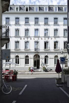 Das Hotel Krafft in Basel