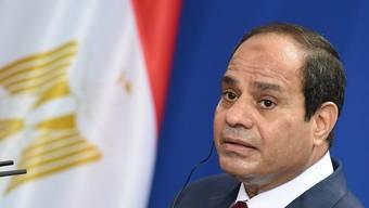 Der ägyptische Präsident Al-Sisi (Archiv)