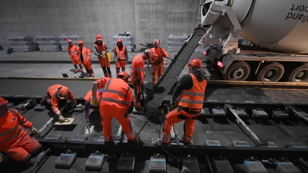 SBB-Engpass Olten-Aarau: In rund einem Jahr gibt es vier Gleise