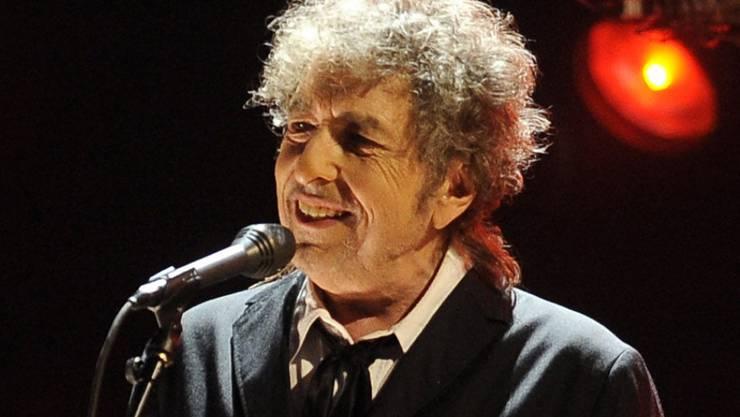 Neues von Bob Dylan: Der Musiker und Literaturnobelpreisträger bringt Ende März erneut Aufnahmen von Songs aus dem American Songbook heraus. (Archivbild)