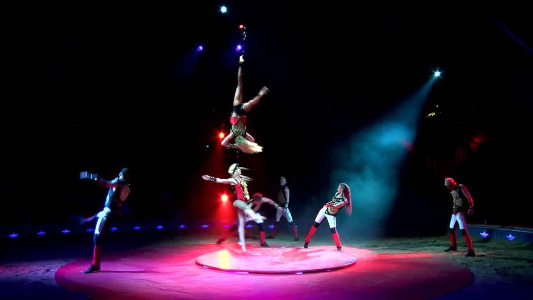 Zirkus Knie mit neuem Programm «émotions» unterwegs