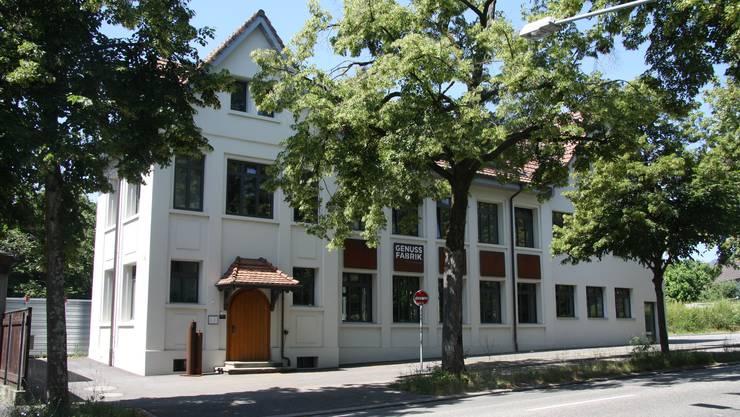 Die Genussfabrik an der Weissensteinstrasse.