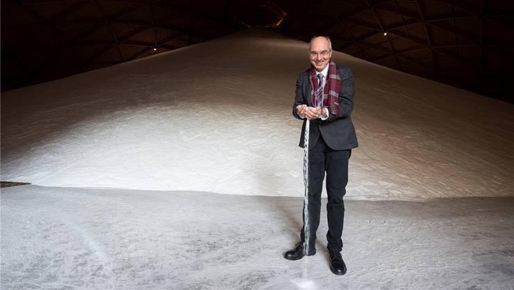 Carlo Habich, Mitglied der Geschäftsleitung der Schweizer Salinen AG. Archiv