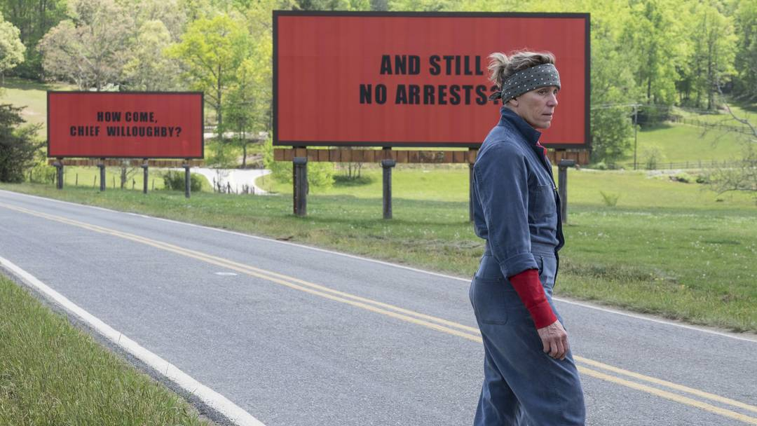Trailer Three Billboards Outside Ebbing, Missouri