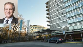Henri Schmid ist interimistischer Chef im Basler Felix Platter-Spital.