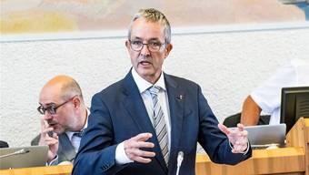 «Der Spielraum der Regierung ist im Verhältnis zur Verantwortung, die sie trägt, zu klein.» Thomas Weber SVP-Regierungsrat