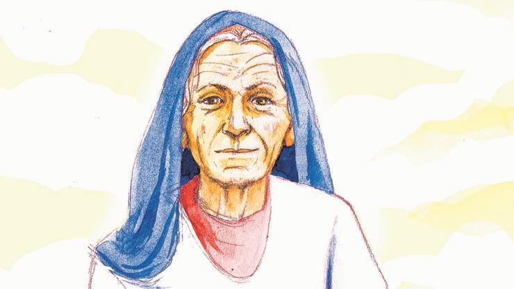 Ihre Verehrung dürfe man den Orthodoxen und Katholiken überlassen, das sei nicht so ihres, sagt Maria im Interview – auch wenn sie Verständnis dafür habe.