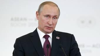 Wladimir Putin gibt sich als Verbündeter arabischer Länder.