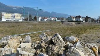 Auf dieser Brache nördlich des SWG-Betriebsgebäudes soll der Campus Technik gebaut werden.
