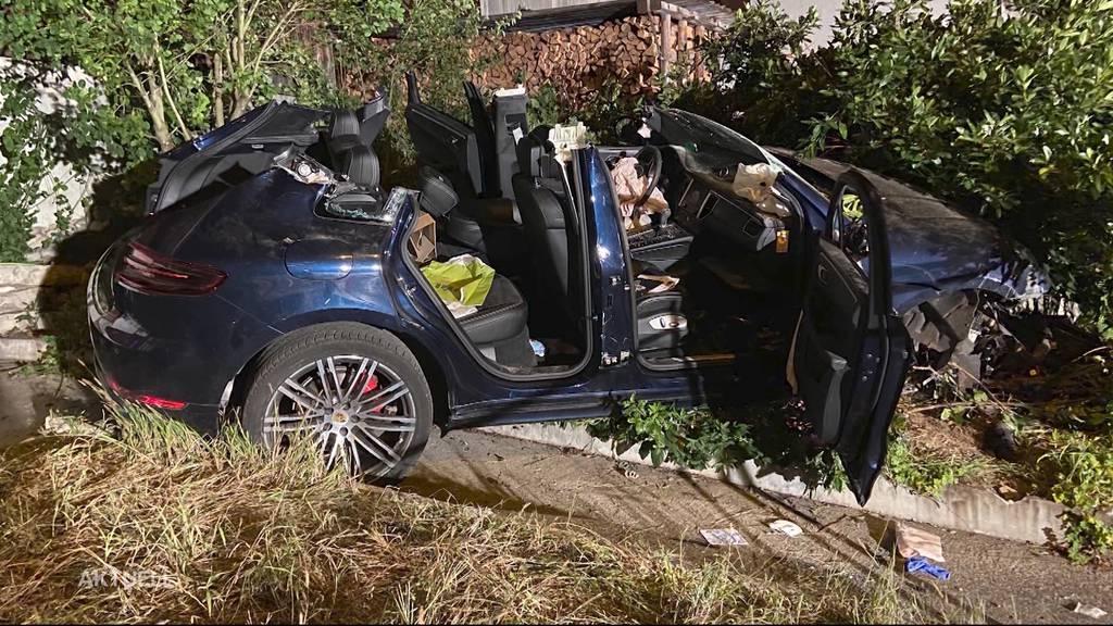 7-jähriges Mädchen bei Porscheunfall in Auenstein verletzt