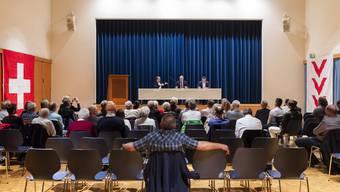 SBI-Podiumsdiskussion Aesch 12.11.18