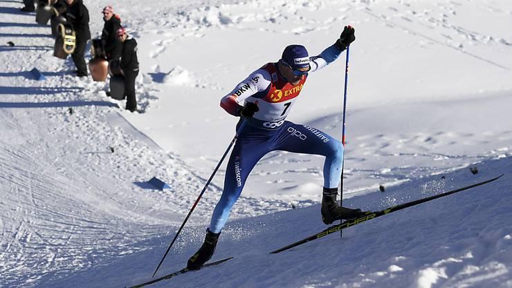 Wegen seines Kälteasthmas verzichtet Cologna auf die Schlussetappe der Tour de Ski.