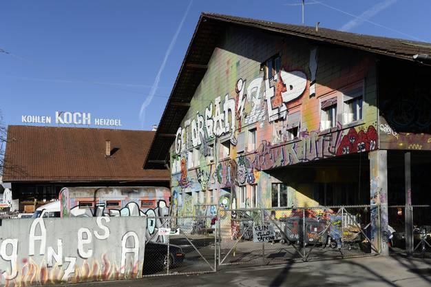 Das Koch-Areal in Zürich Altstetten.