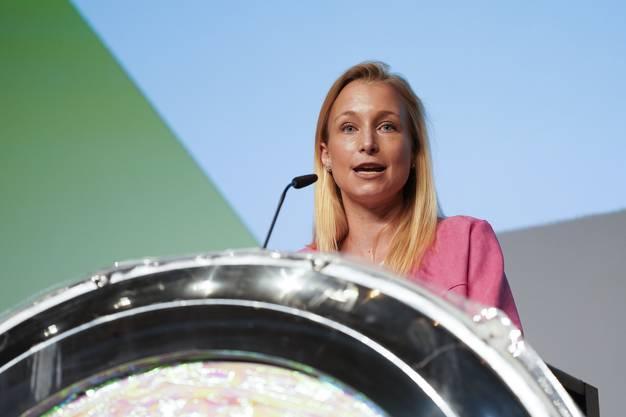 SVP-Grossrätin Michaela Huser sagte, dass im Coronajahr nichts selbstverständlich ist, auch die Durchführung des Fantoche nicht.