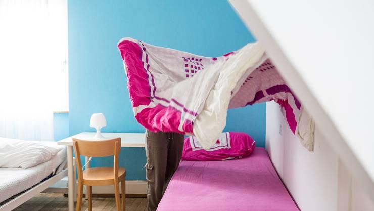 Leere Betten im Frauenhaus: «Das Defizit widerspiegelt die sehr tiefe Auslastung des Frauenhauses», heisst      es beim Departement Bildung, Kultur und Sport.