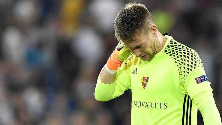 Tomas Vaclik und seine Mannschaft können nicht zufrieden sein mit ihrer Leistung gegen Ludogorets.