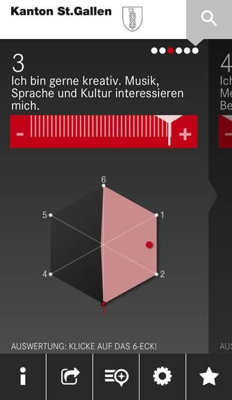 Screenshot BIZ-App