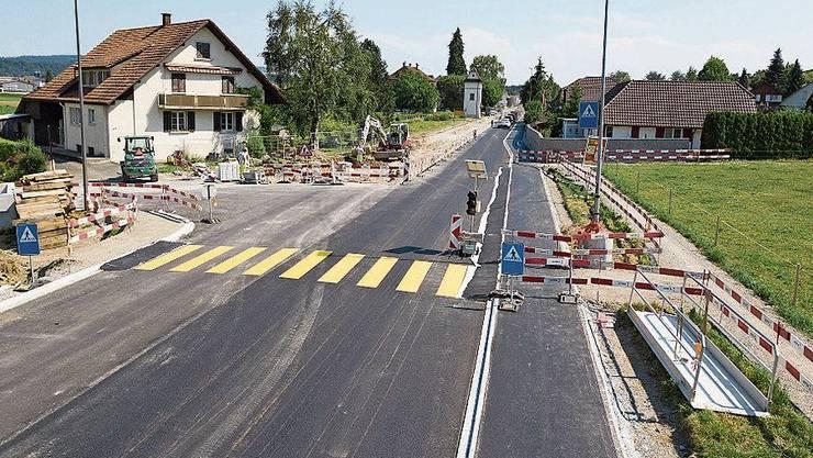 In rund zwei Wochen braucht es in Schafisheim keine Ampel mehr.
