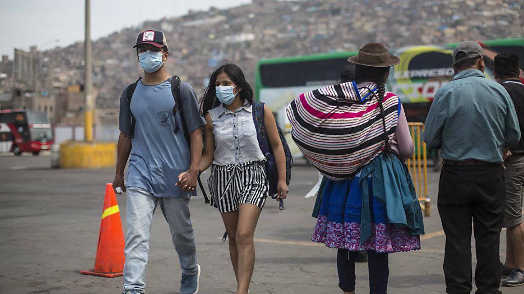 Peru ergreift ungewöhnliche Mittel gegen Coronavirus