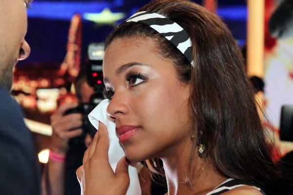 Nachher weinte sie bittere Tränen