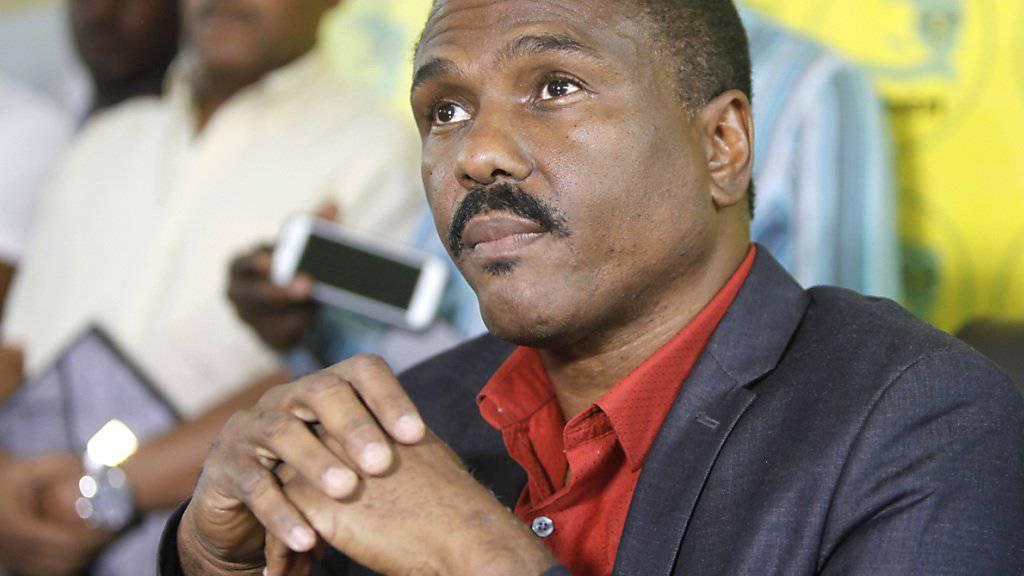 Oppositionskandidat Jude Célestin fordert als Bedingung für seine Teilnahme an der Stichwahl in Haiti unter anderem eine Untersuchung des ersten Wahlgangs. (Archivbild)