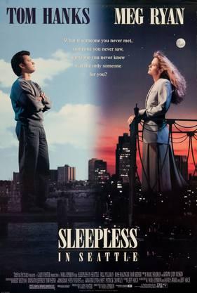 Ein Junge wünscht sich eine neue Mutter. Witwer Tom Hanks und Radiofrau Meg Ryan treffen sich auf dem Empire State Building. Hach!