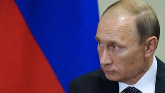 Reagiert auf die US-Sanktionen gegen sein Land: Russlands Präsident Wladimir Putin. (Archiv)