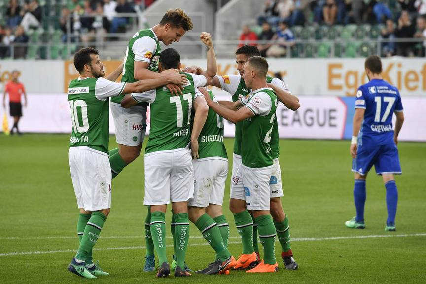 Das 1:0 gegen den FC Luzern.