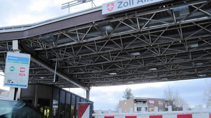 Der Grenzübergang Allschwil-Hegenheim.