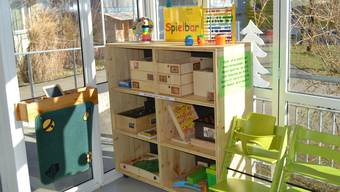 Die Spielbar steht in der Cafeteria der Stiftung Morgenstern.