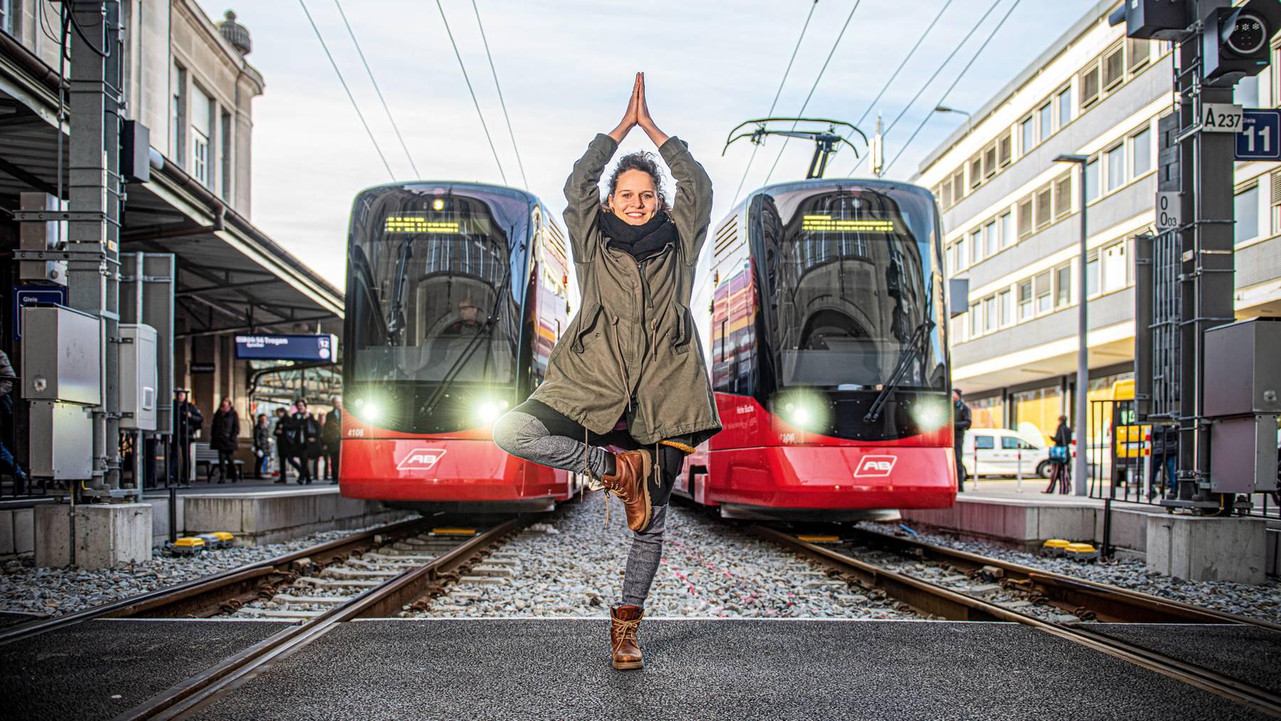 Yogalehrerin Ishtar Dobler