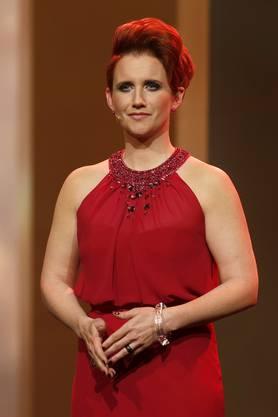Steffi Buchli moderierte die Credit Suisse Sports Awards und sorgte mit ihrer Frisur für Gesprächsstoff. (Archiv)