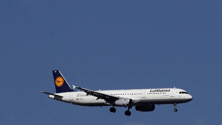 Viele Deutsche zeiht es wieder in die Heimat: Lufthansa-Flugzeug landet in Düsseldorf. (Archiv)