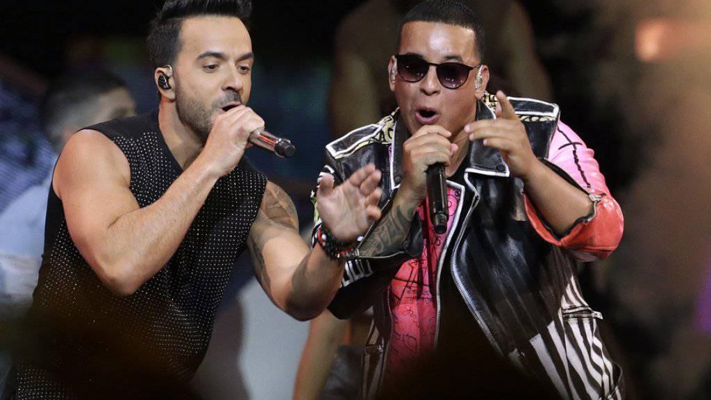 Von ihnen stammt der Sommerhit «Despacito»: Luis Fonsi (l.) und Daddy Yankee. (Archiv)
