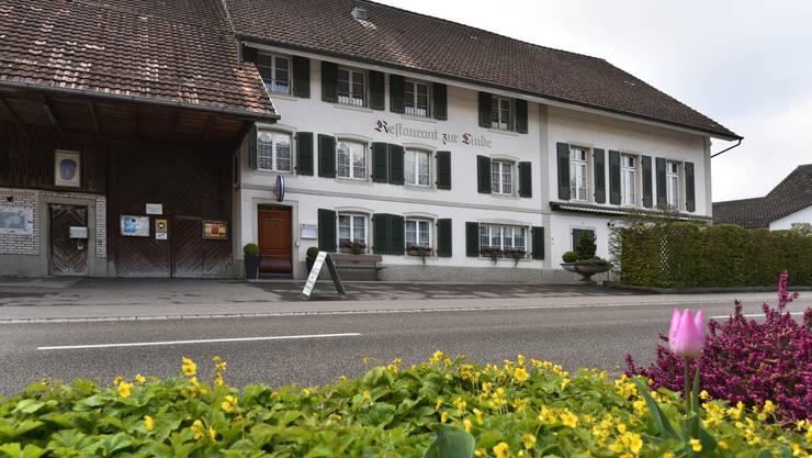 Die «Linde» soll auch unter ihrer neuen Eigentümerin, der Gemeinde Fulenbach, eine gut-bürgerliche Küche anbieten.